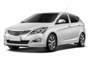 Чехлы на Hyundai Solaris хэтчбек 2010-2017 г.в.