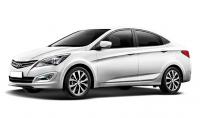 Чехлы на Hyundai Solaris седан 2010-2017 г.в.